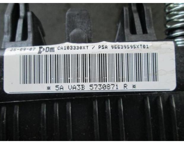 airbag volan citroen berlingo 1.6hdi 9hw cod 96639595xt01