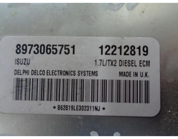 calculator motor opel astra g 1.7dti 12212819