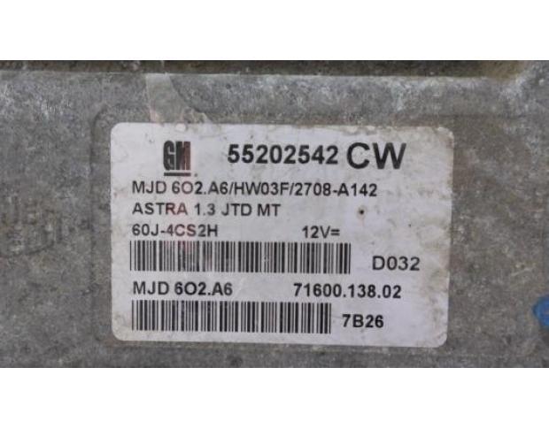 calculator motor opel astra h 1.3cdti 55202542cw