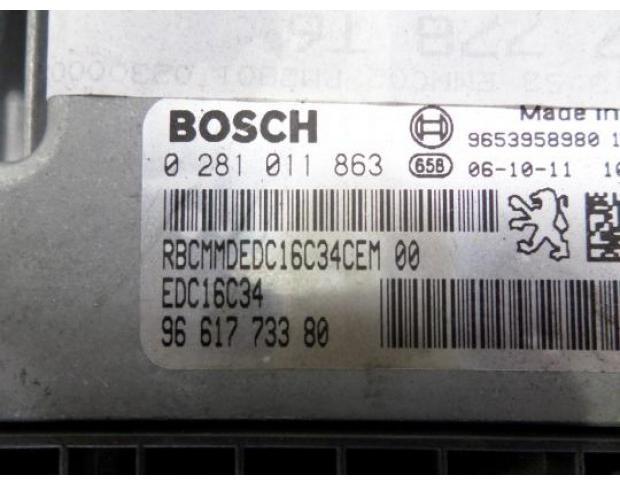 calculator motor peugeot 307 1.6hdi cod 9661773380