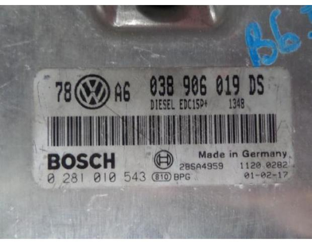 calculator motor vw passat 1.9tdi avf 038906019ds