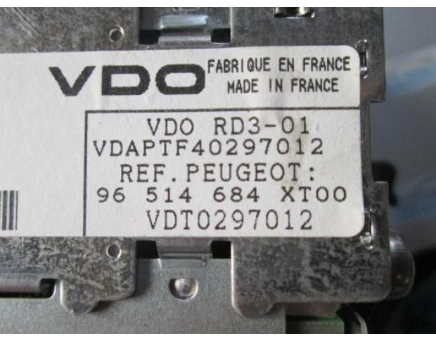 cd audio peugeot 206 2.0hdi rhy 96514684