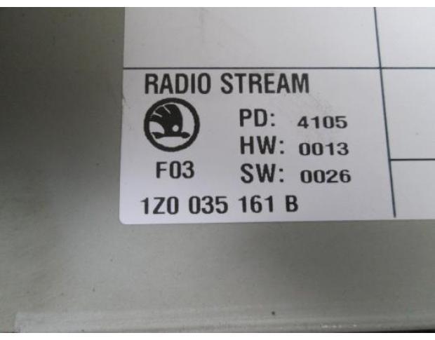 cd audio skoda octavia 2 1.9tdi bxe cod 1z0035161b