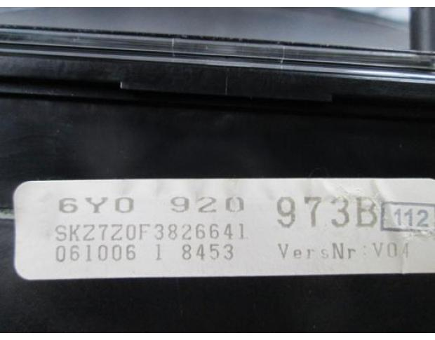 ceas bord skoda fabia 1.4 16v bbz 6y0920973b