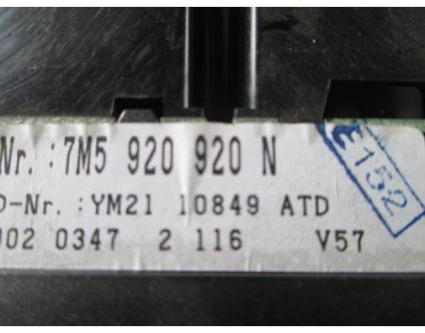 ceas bord vw sharan auy cod 7m5920920n din dezmembrari