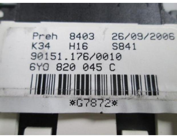 comanda ac skoda fabia 1.4 16v bbz 6y0820045c
