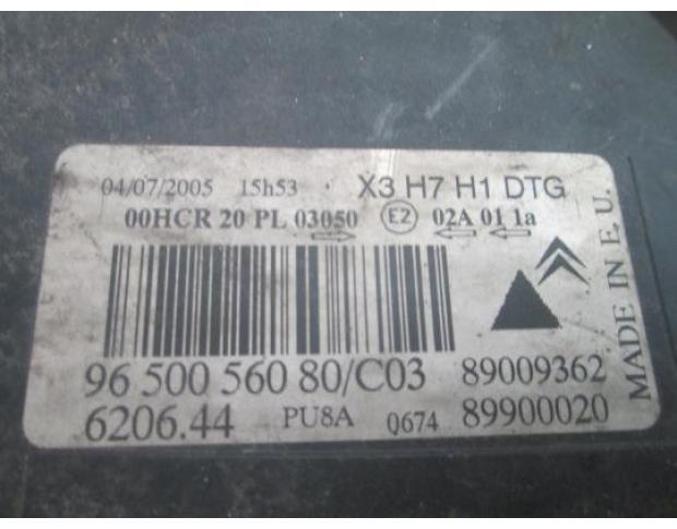 far dreapta citroen c 5 1.6hdi 9hz cod 9650056080