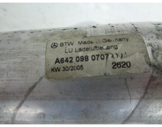 furtun intercoler mercedes cls 320 cdi a6420980707