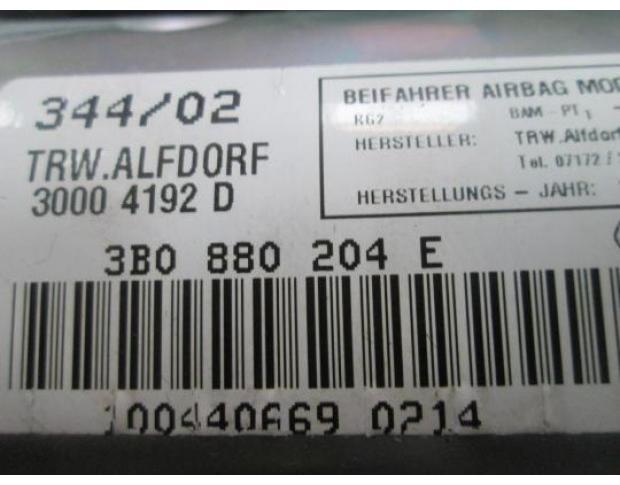 vindem airbag pasager 3b0880204e vw passat b6 1.9tdi avb
