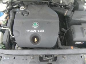 motor fara anexe skoda octavia 1 1.9tdi alh